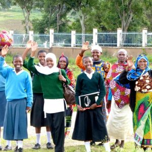 Tanzania- new students and their moms