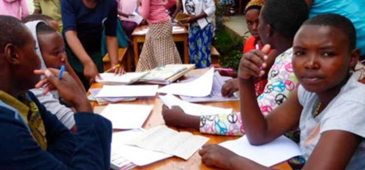 Tanzania - writing letters to sponsors