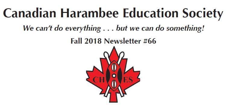 CHES Fall, 2018 Newsletter